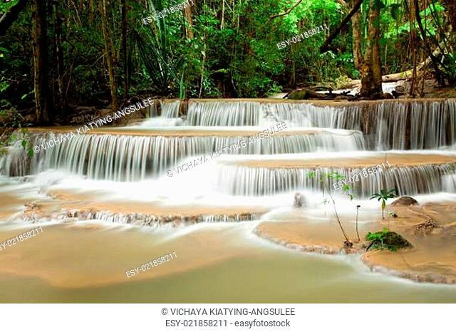 Tropical Climate Waterfall