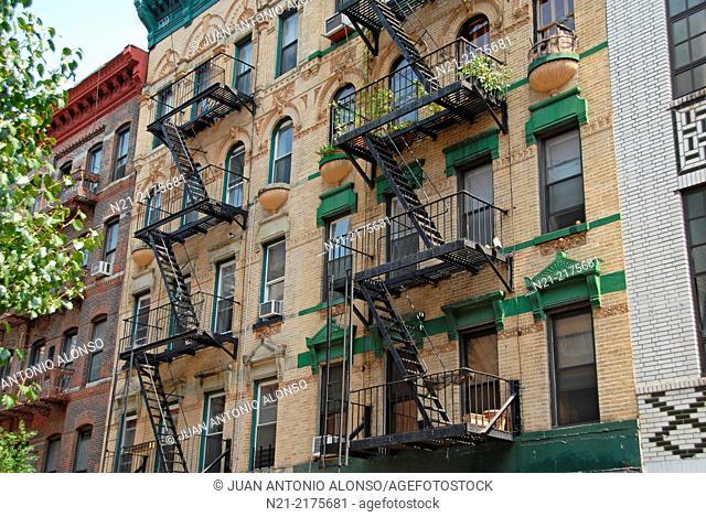 Little Italy, Lower East Side Manhattan, New York, New York, USA