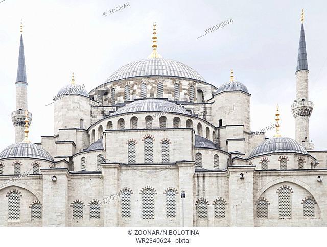 Sultanahmet (Blue mosque) in Istanbul