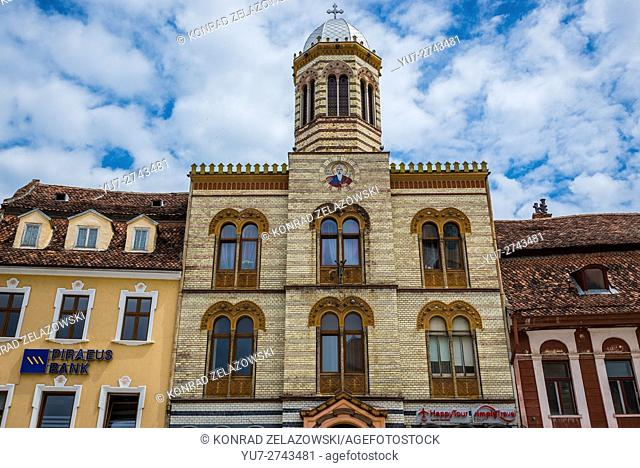 The Orthodox church of the Dormition of the Theotokos (Assumption Church) in Brasov, Romania