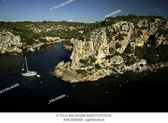 Cala de Calascoves. (2011)Minorca, Balearic islands. Spain