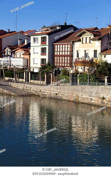 Reflect in Plentzia, Bizkaia, Basque Country, Spain