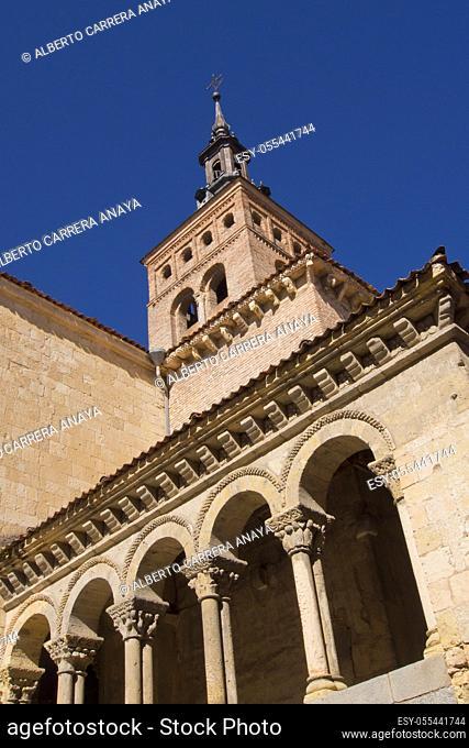 Romanesque Church of San Martín, Segovia, UNESCO World Heritage Site, Castilla y León, Spain, Europe