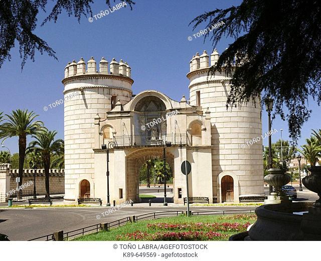 Puerta de Palmas, Badajoz, Spain