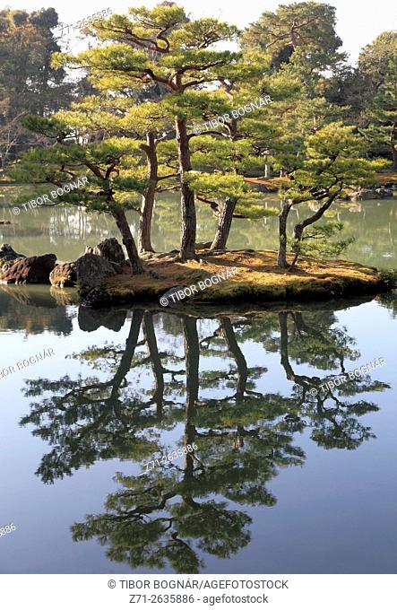 Japan, Kyoto, Kinkaku-ji Temple, garden,