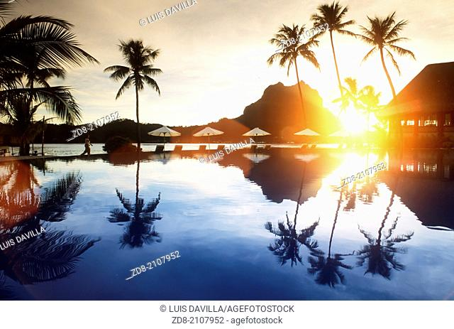 Bora Bora Lagoon Resort.bora bora.Polynesia