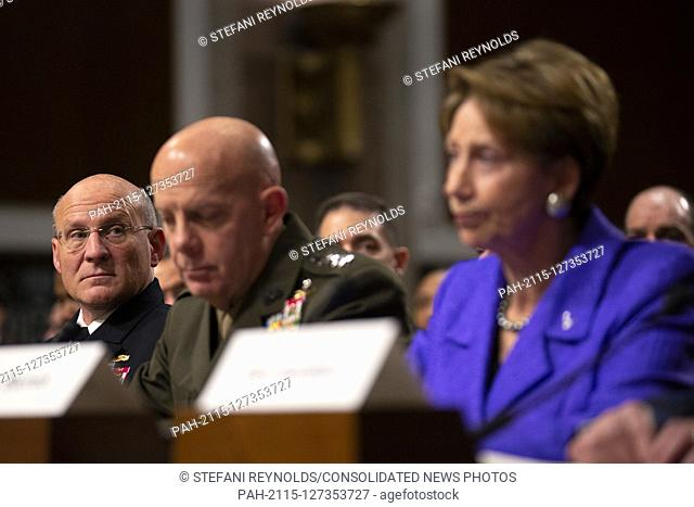 Director of Defense Capabilities and Management at the Government Accountability Office Elizabeth Field, Secretary of the Army Ryan McCarthy