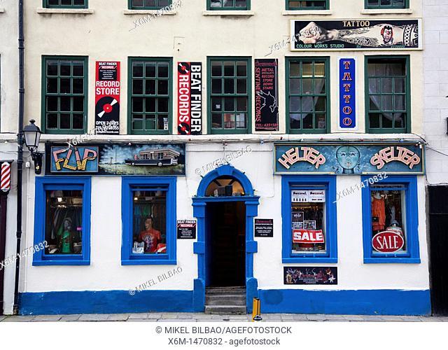 Street view Dublin  Ireland