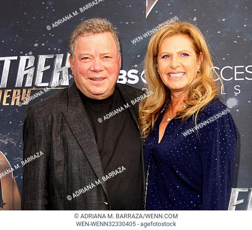 Star Trek: Discovery Premiere held at the ArcLight Cinerama Dome in Hollywood - Arrivals Featuring: William Shatner, wife Elizabeth Shatner Where: Los Angeles