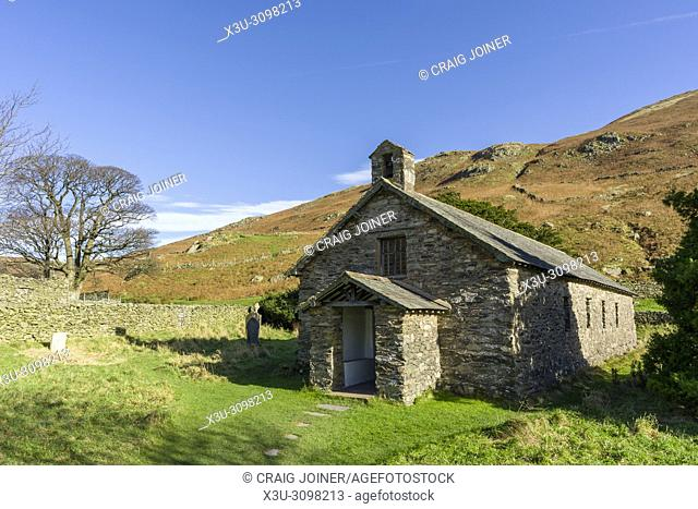 Saint Martin's Church at Martindale in the Lake District National Park, Cumbria, England