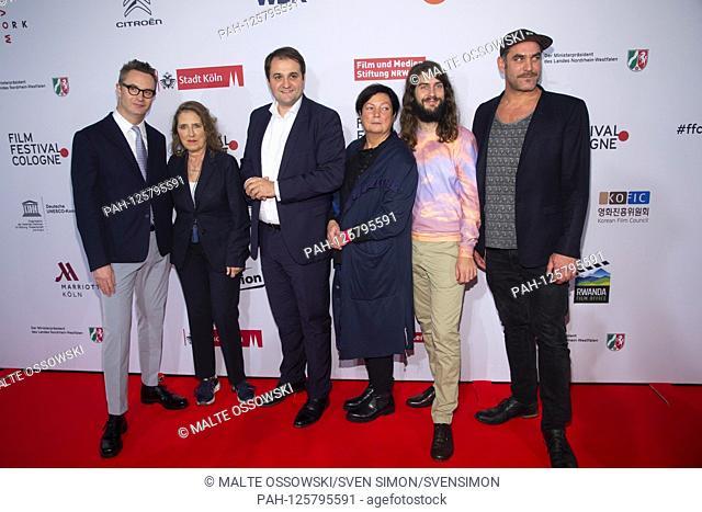 from left: Nicolas WINDING REFN, Denmark, director, Petra MUELLER, Muller, director of the Filmstiftung NRW, Nathanael LIMINSKI
