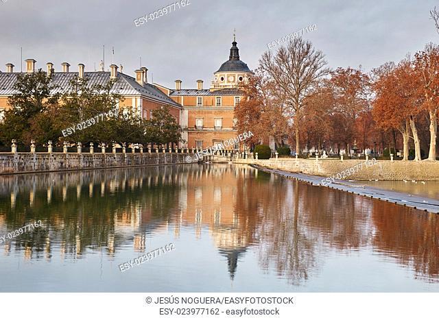 Royal Palace of Aranjuez. Madrid. Spain