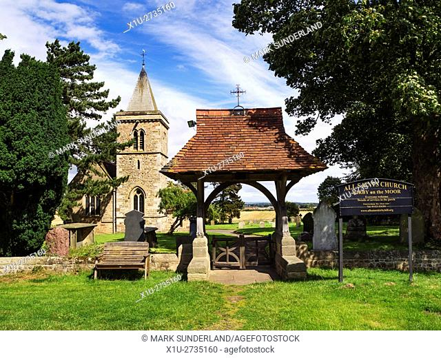 All Saints Church at Kirkby Hill near Boroughbridge North Yorkshire England