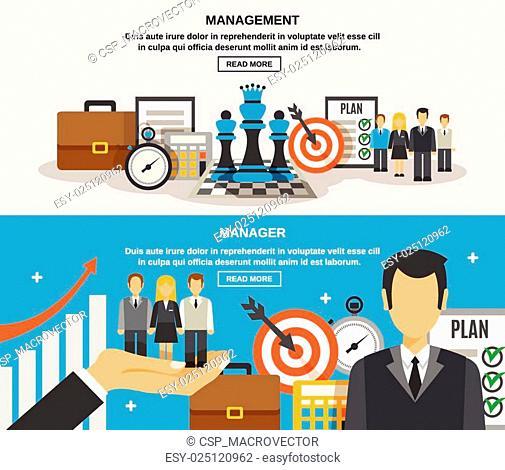 Management Banner Set