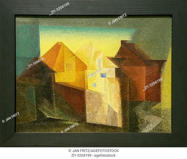 'Luneberg' Lyonel Feininger, GEM, Gemeentelijk Museum Den Haag, Netherlands