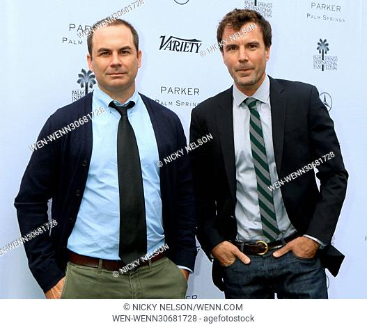 Variety's Creative Impact Awards 2017 held at Parker Palm Springs - Arrivals Featuring: Brendan Malloy, Emmett Malloy Where: Palm Springs, California