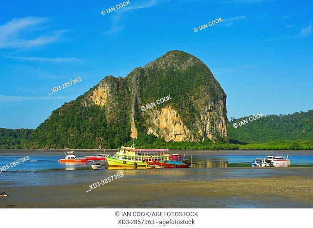 Pak Meng Port, Trang Province, Thailand
