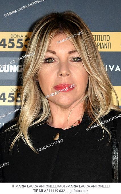Giulia Cirese during the charity show ' Una serata di stelle' for the Hospital Bambino Gesu', Paul VI Hall, Vatican City, ITALY-20-11-2019