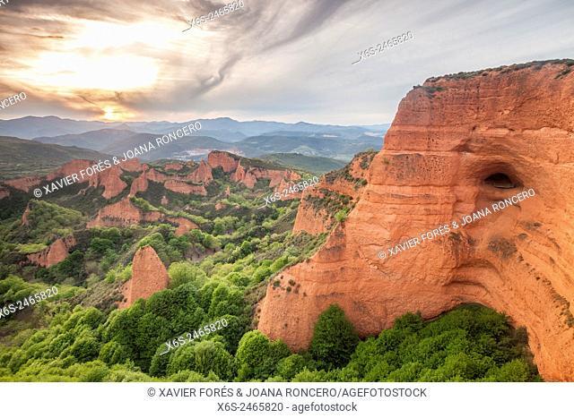 Natural park of Las Medulas, Leon, Spain