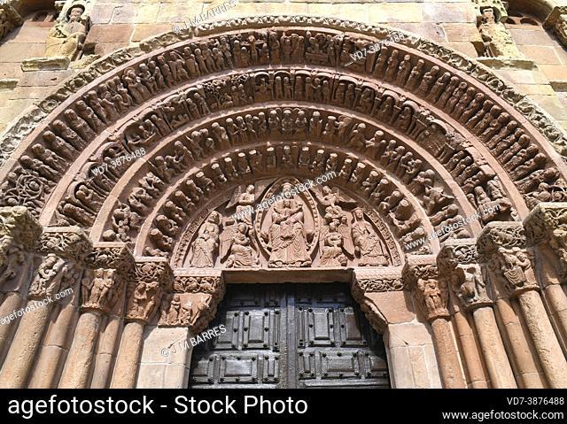 Soria, Santo Domingo (romanesque, 12th century). Castilla y Leon, Spain