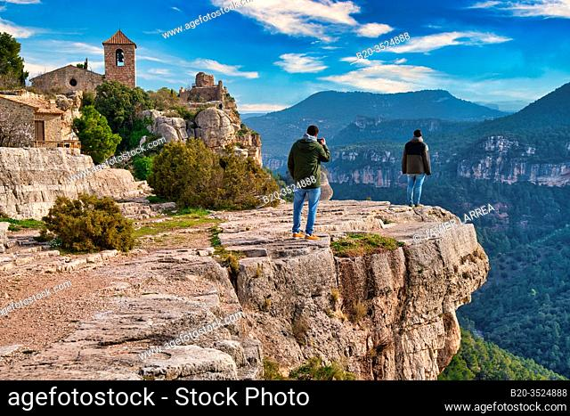 Ciurana de Tarragona village, Siurana, Tarragona Province, Catalonia, Spain, Europe
