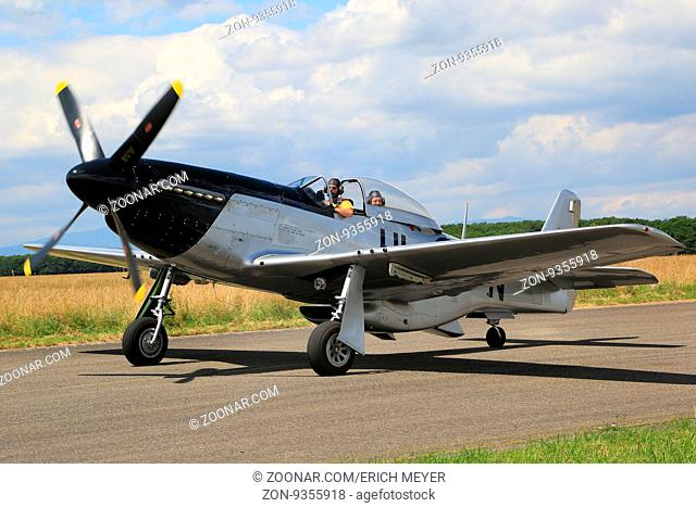 Flugzeugoldtimer North American P-51D Mustang, N51AB
