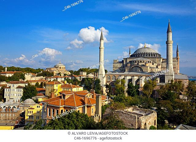 St  Sophia mosque  Istanbul  Turkey