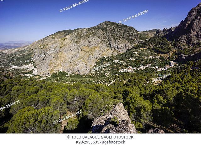 valle de Belerda, parque natural sierras de Cazorla, Segura y Las Villas, Jaen, Andalucia, Spain