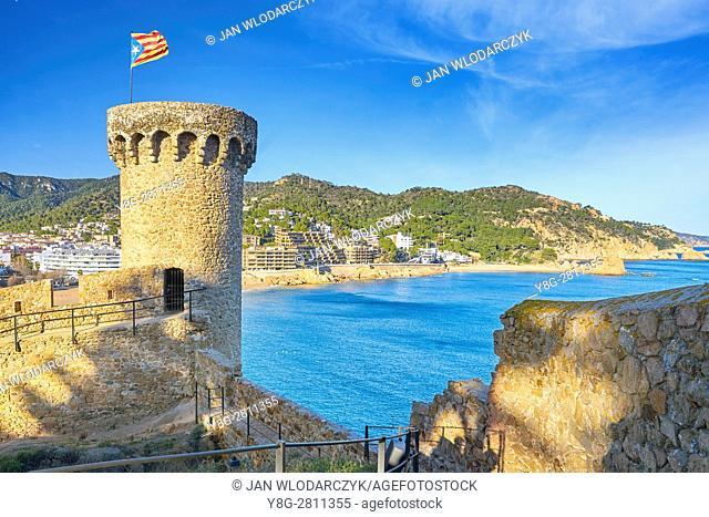 Tossa del Mar, Costa Brava, Catalonia, Spain