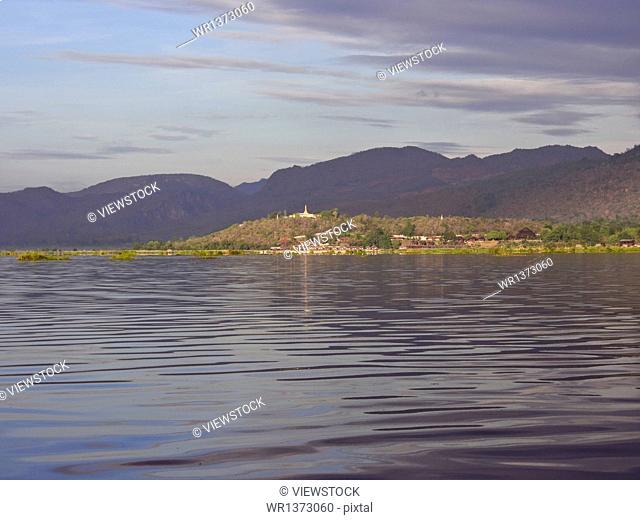 Myanmar Inle Lake scenery