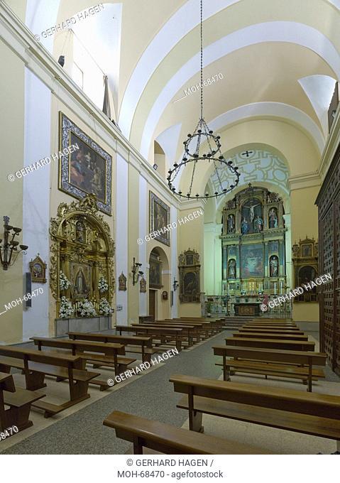 Madrid, Monasterio de las Carboneras, Kloster