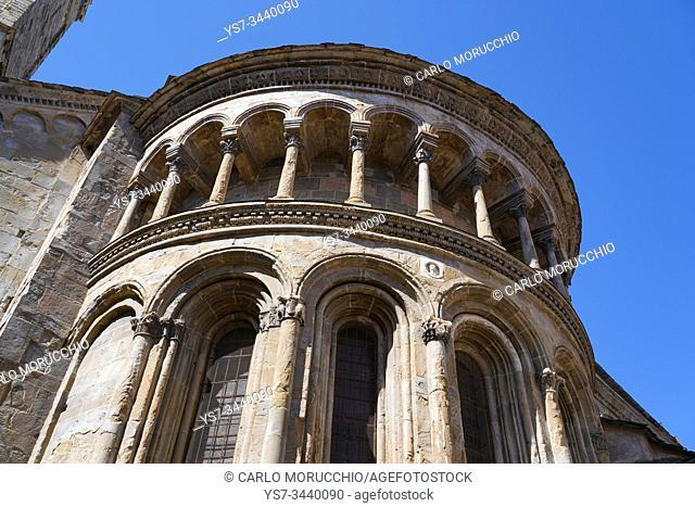 Central apse of Santa Maria Maggiore Basilica, Bergamo, Lombardia, Italy, Europe