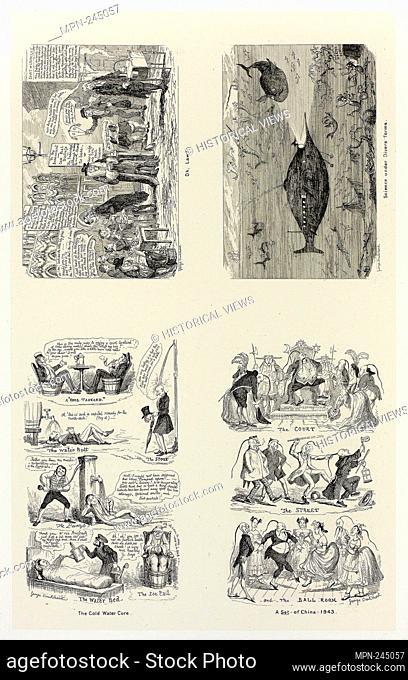 Oh, Law! from George Cruikshank's Steel Etchings to The Comic Almanacks: 1835-1853 (top left) - 1843, printed c. 1880 - George Cruikshank (English