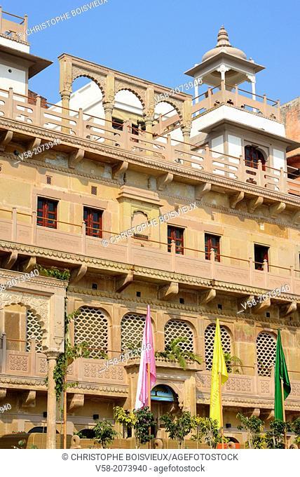 India, Uttar Pradesh, Varanasi, Jukaso Ganges Hotel