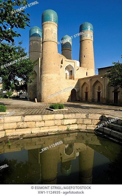 Chor Minor mosque, Bukhara, Buchara, Silk Road, Unesco World Heritage Site, Uzbekistan, Central Asia