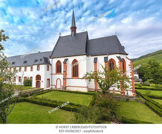 St. Nicholas Hospital - Cusanusstift monastery, Bernkastel-Kues, Mosel river, Rhineland-Palatinate, Germany, Europe