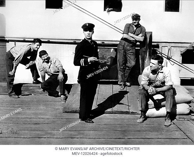 Buster Keaton Characters: William Canfield Jr. Film: Steamboat Bill, Jr. (1928) Director: Charles Reisner 01 May 1928 Wasser hat Balken (Steamboat Bill, jr