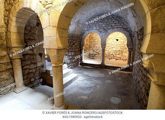 Arab baths, Girona, Catalonia, Spain