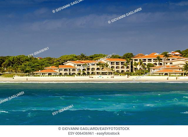 Coast of Playa del Carmen, Mexico