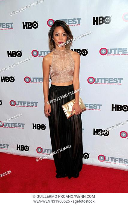 Outfest Los Angeles LGBT Film Festival at the Orpheum Theatre - Photocall Featuring: Rachel Leyco Where: Los Angeles, California