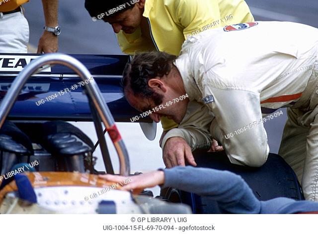 Denny Hulme, Questor GP, Ontario 28th March 1971
