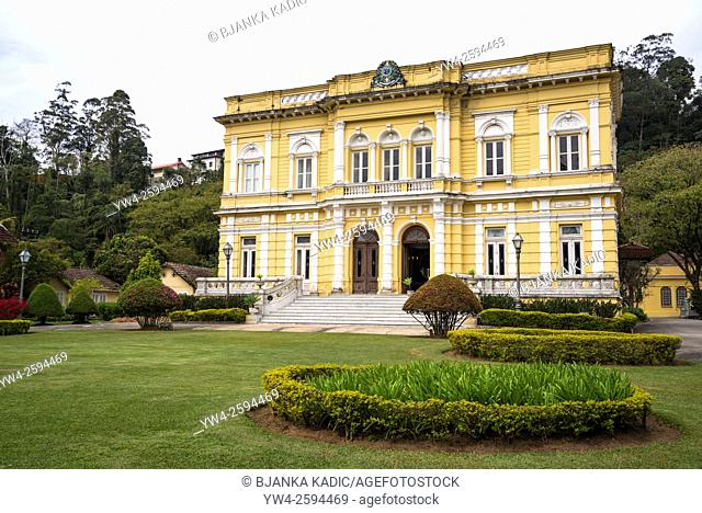 Rio Negro Palace, official summer residence of the Presidents of Brazil, Petropolis, state of Rio de Janeiro, Brazil