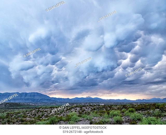 Storm in Big Bend Country