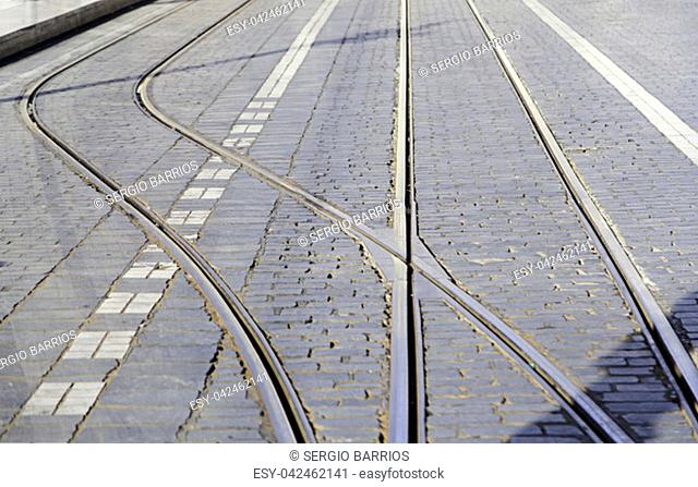 Old tram routes, details of urban transport in the city