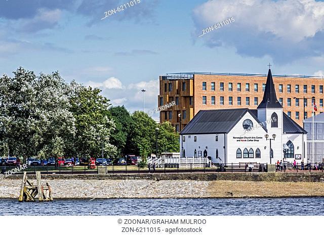 The Norwegian Church Cardiff Bay Glamorgan UK