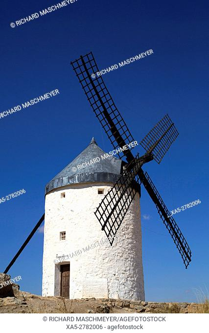 Windmill, Consuegra, Castile-La Mancha, Spain