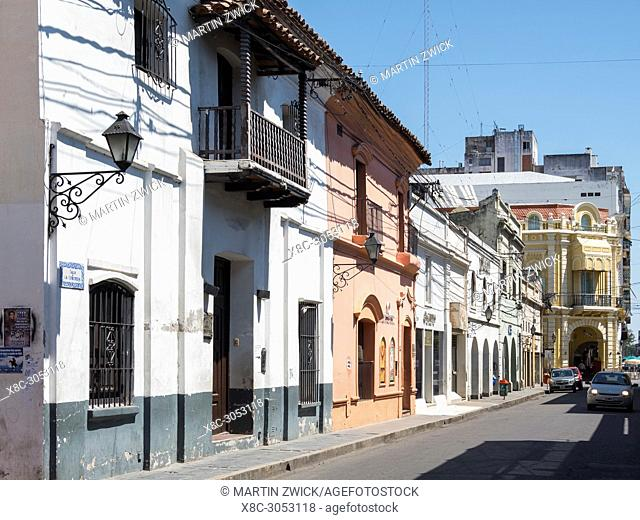 "Streets in the town center. Town Salta in the north of Argentina located in the foothills of the Andes. """"Salta La Linda"""" is considered as one of the most..."