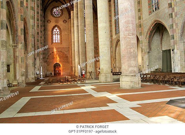 CHURCH CHOIR, JACOBIN CONVENT, TOULOUSE, HAUTE-GARONNE 31, FRANCE