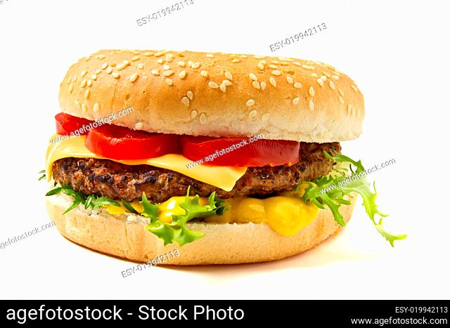 Cheeseburger and Mustard