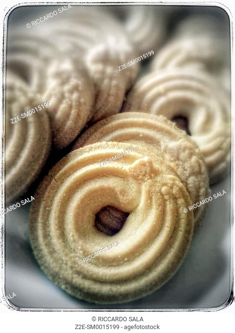 Close-up of Cookies. . . .